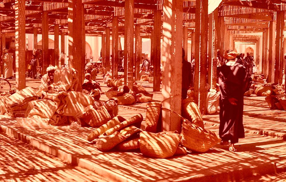 Rissani Souk ( Market ) Morocco 1978