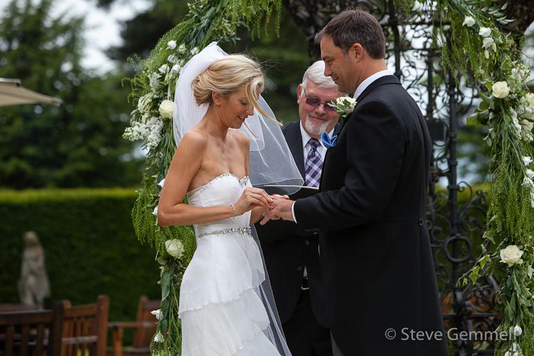 brocket hall wedding photography by steve gemmell