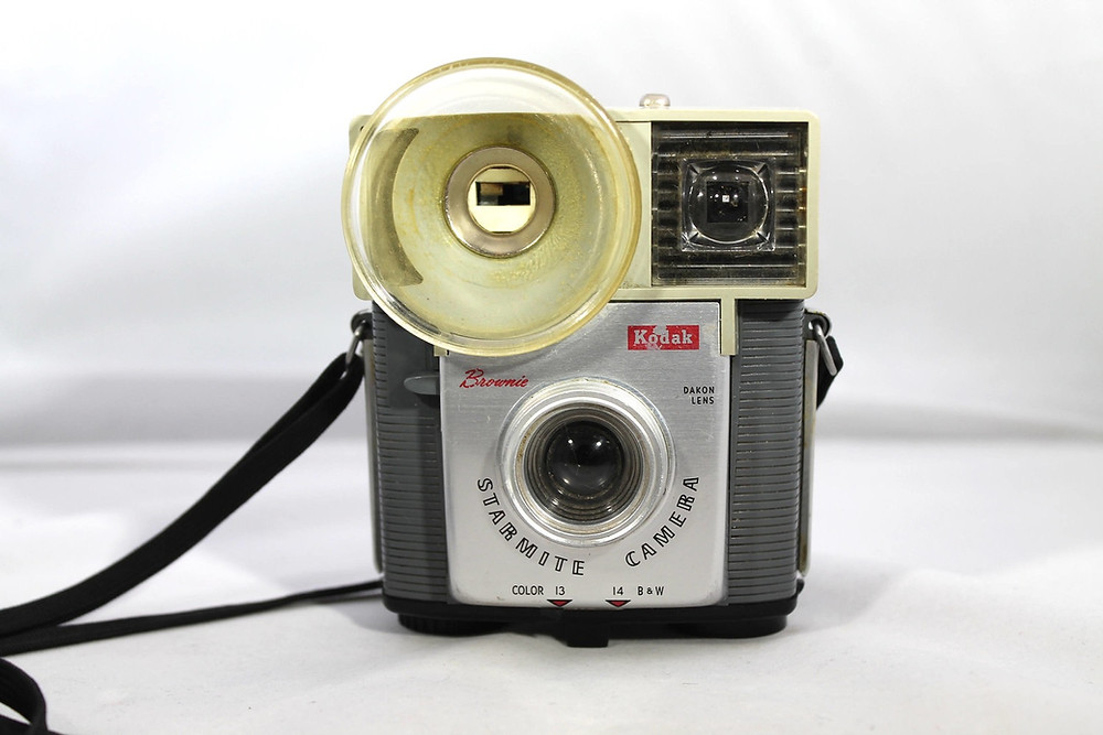 Kodak Brownie Starmite-my very first camera