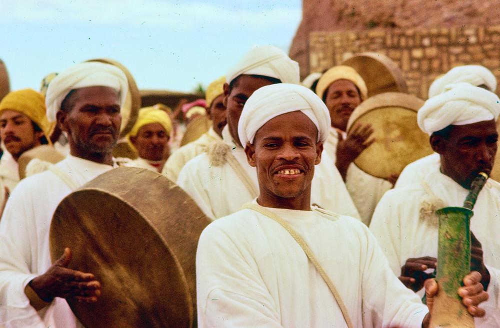 Berber musicians Morocco