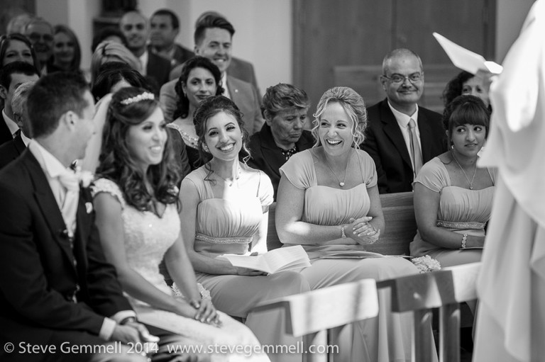 laughter Surrey Wedding Photography by Steve Gemmell