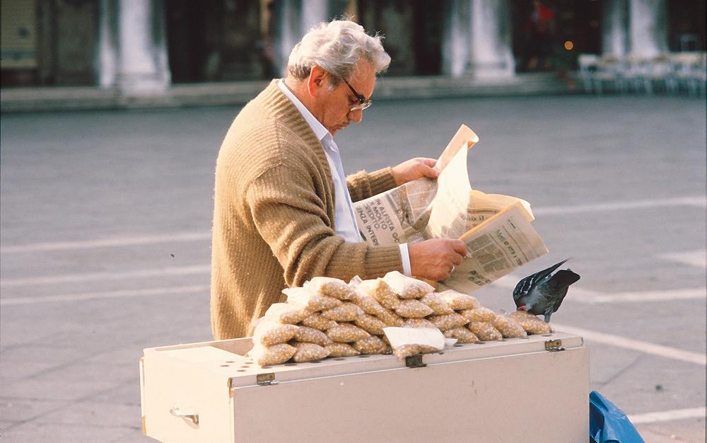 Penut vendor Venice 1980