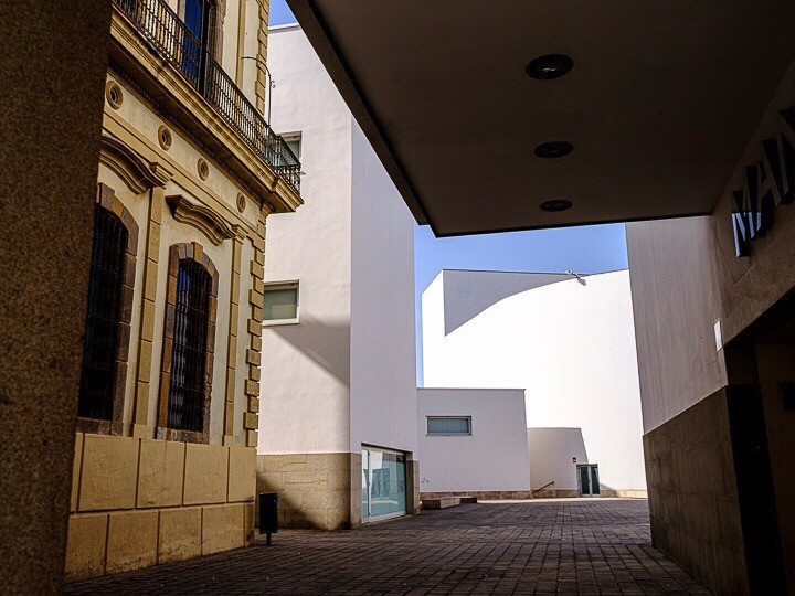 Architecture and shapes and light Cetua Spain