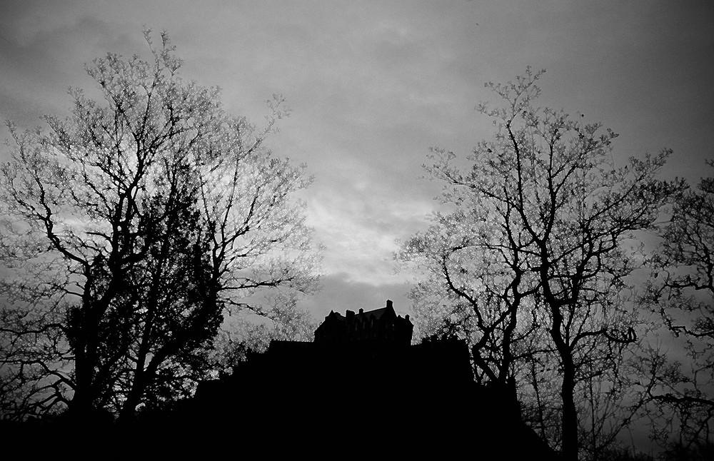 Edinburgh Castle shot from Princes Street