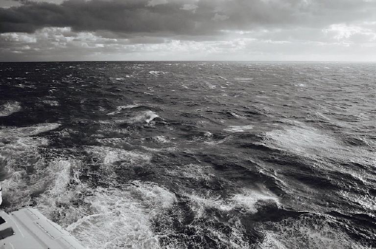 Some rough seas