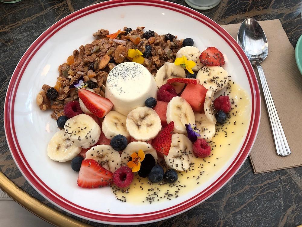 Breakfast taken with iPhone X