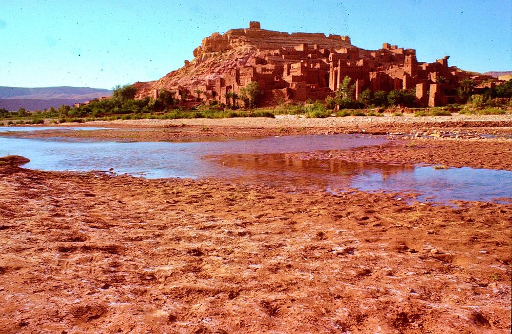 1978 image of Aït Benhaddou Morocco