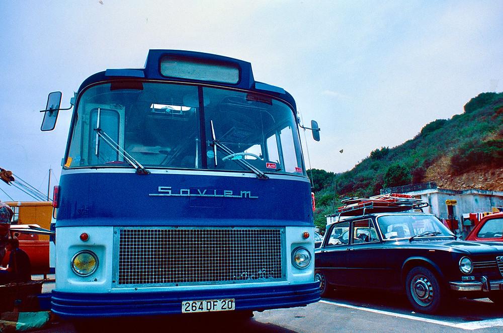 Our trusty tour bus