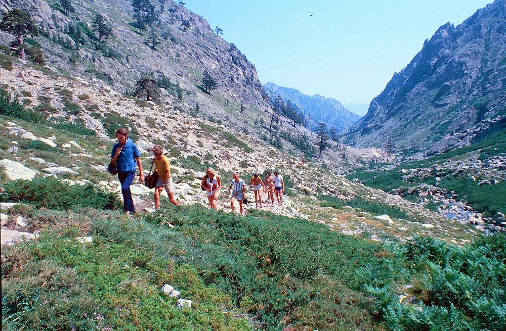 Trekking in the Corsican Hills