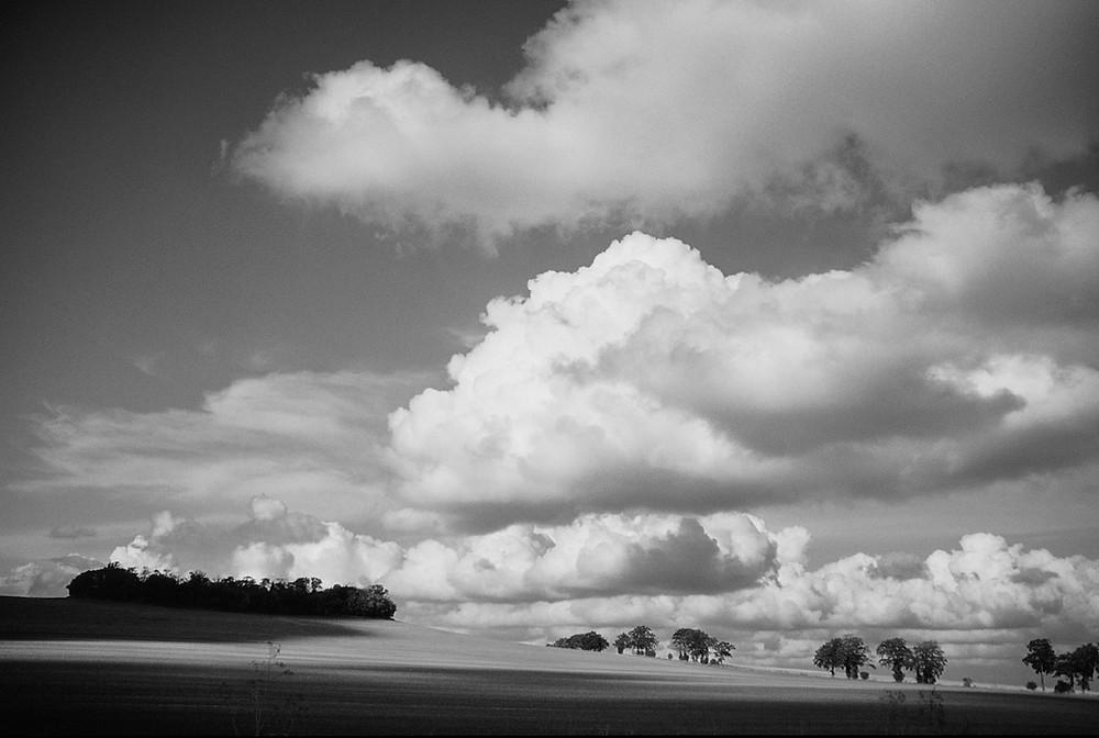 Beautiful Clouds Landscape
