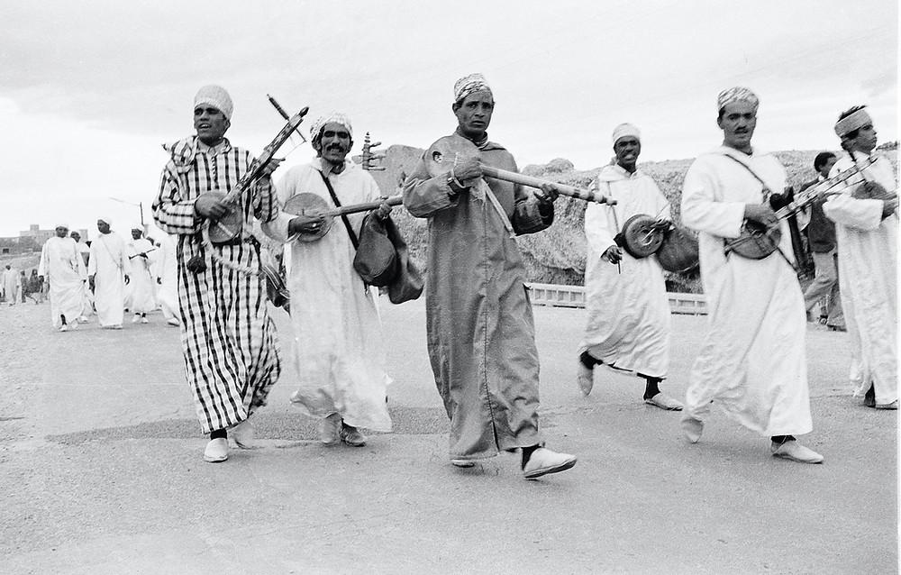 Berber musicians Morocco 1978