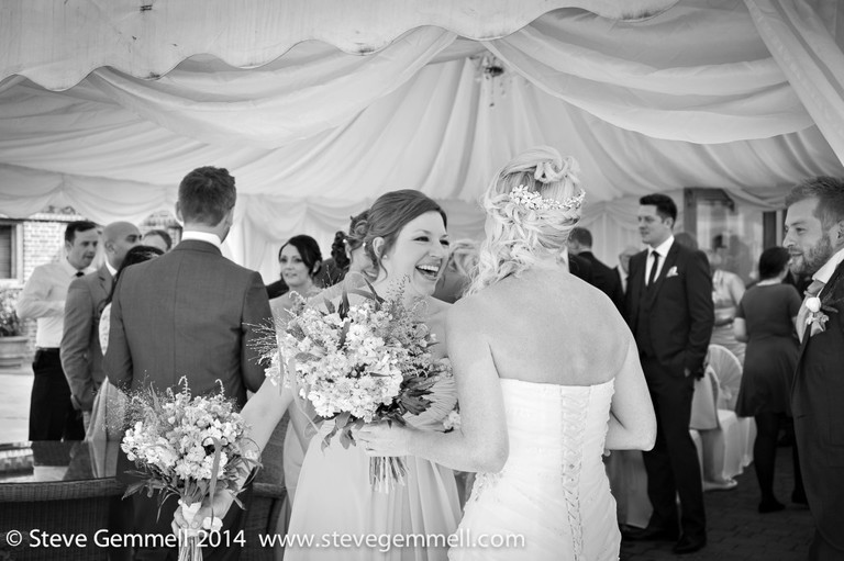 Fun Wedding at Coltsfoot by Hertfordshire wedding photographer