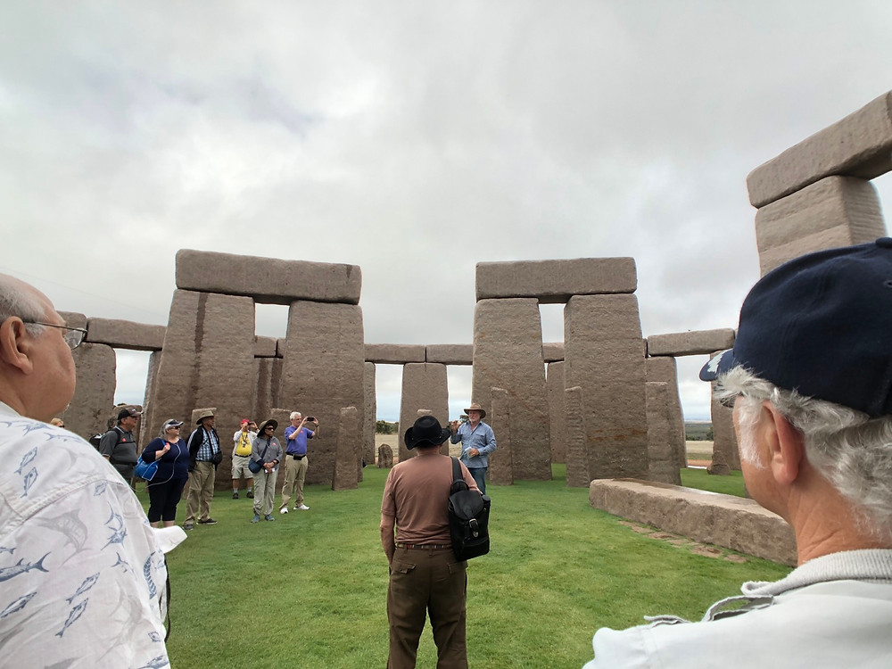 Stonehenge replica Tasmania