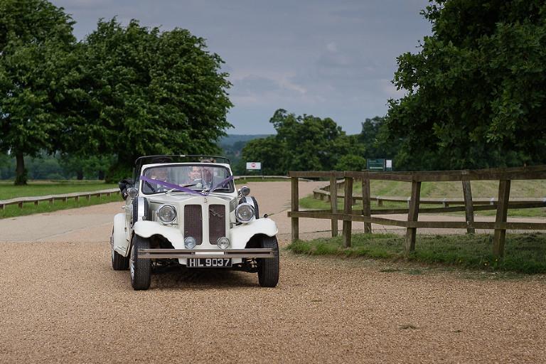 Car arriving Knebworth House by Steve Gemmell