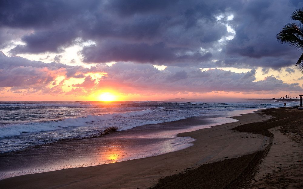 sunrise Punta Cana beach