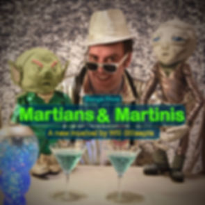 Martians & Martinis Album Cover May 2020