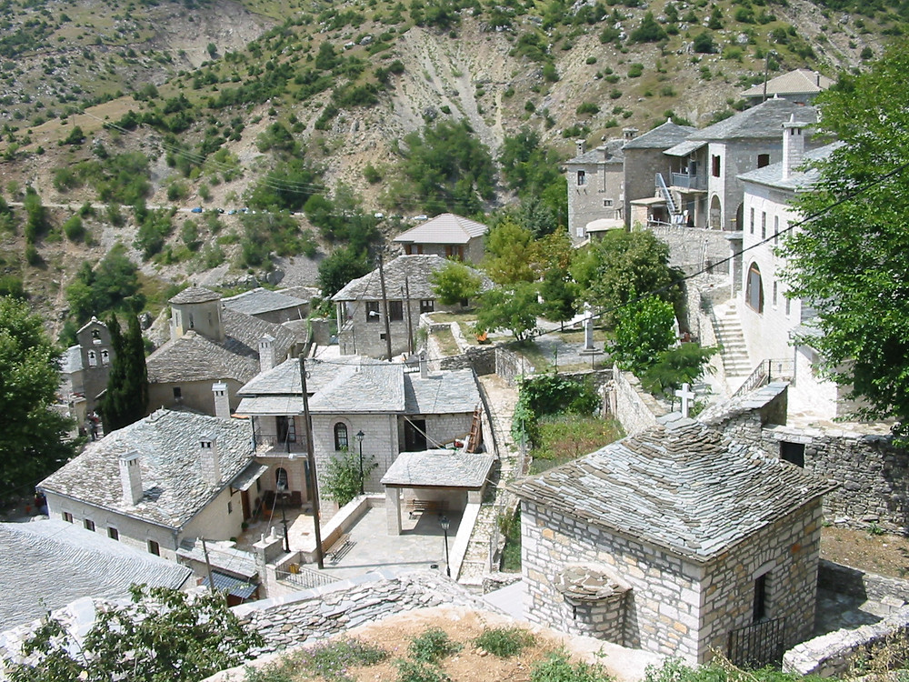 The Syrrako & Kalarites Villages | Top Destinations in Epirus Greece