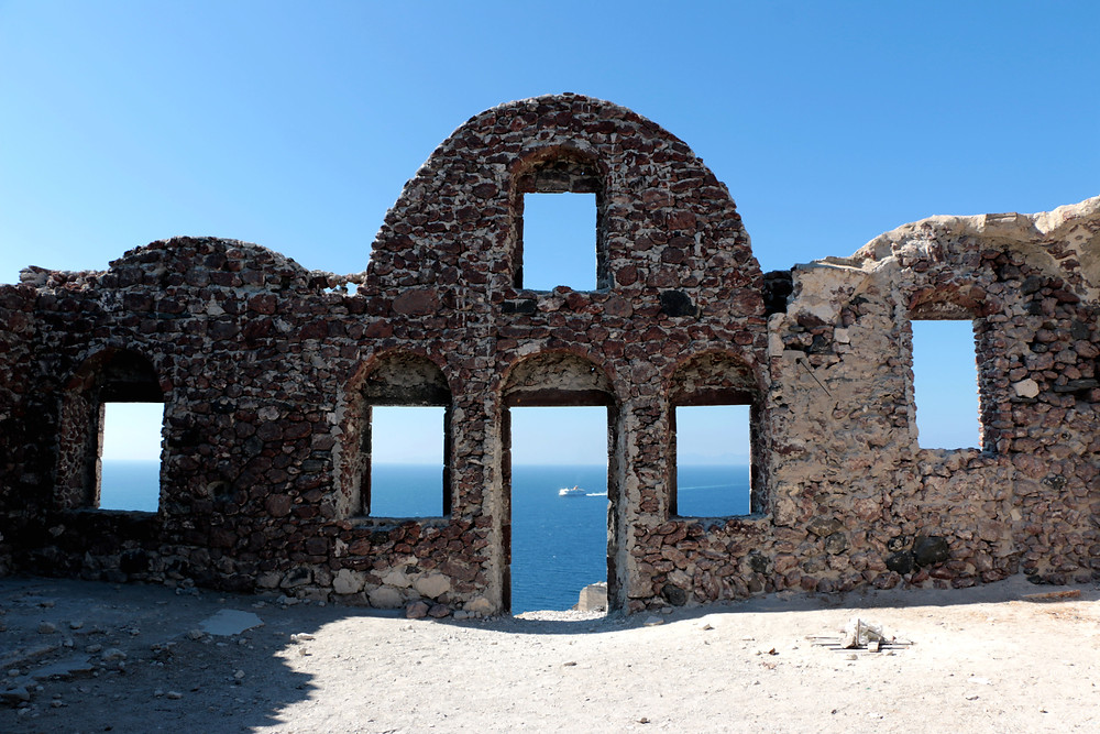 Oia Castle | Santorini Island