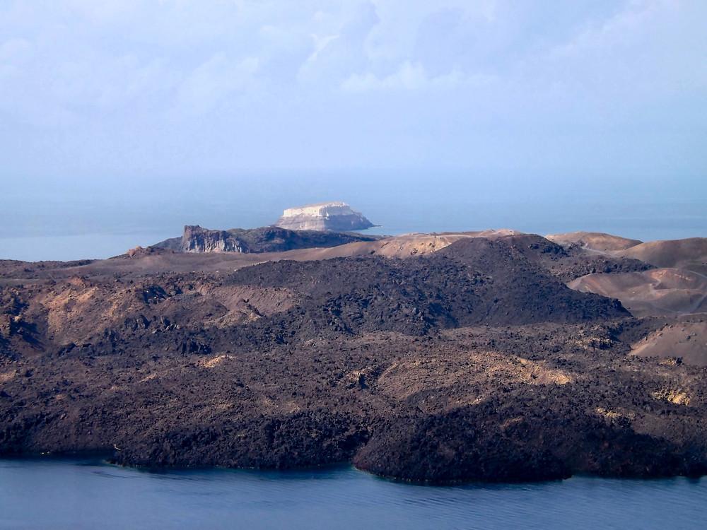 Nea Kameni Volcano | Santorini Island