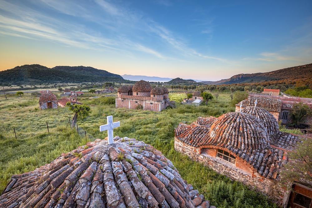 Monastery Architecture, Lesvos