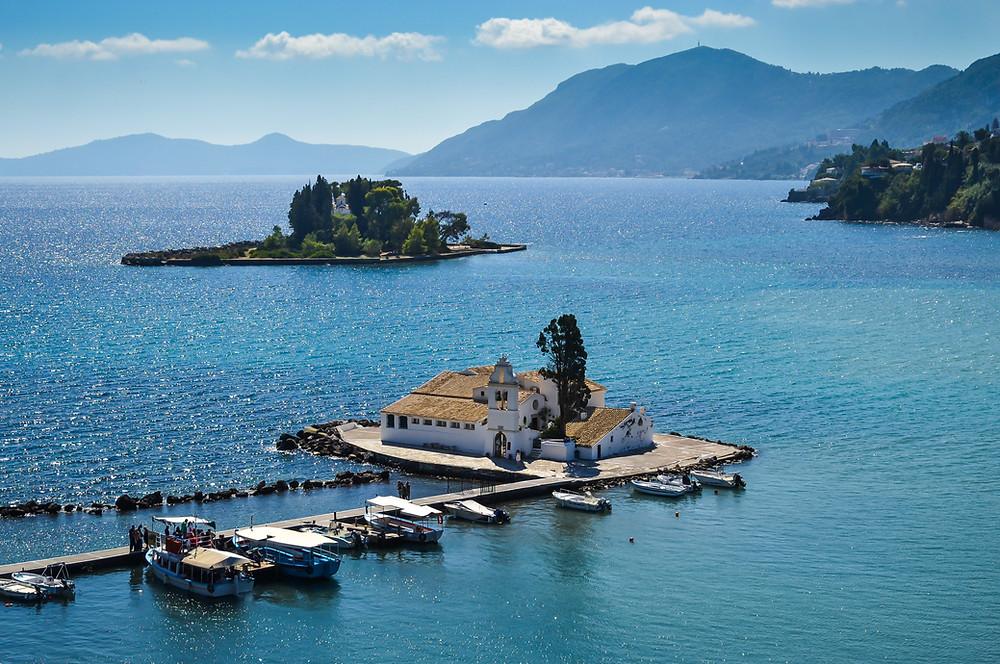Pontikonisi Islet | Corfu | Best Experiences in Greece
