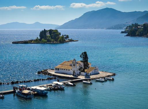 Pontikonisi Islet   Corfu