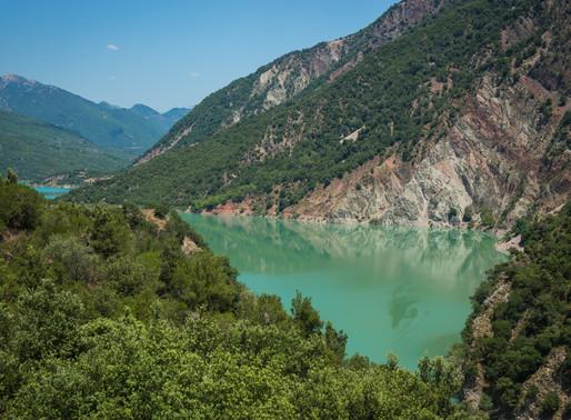 Kremasta Lake | Karpenisi | Dam, Fjords and Islands
