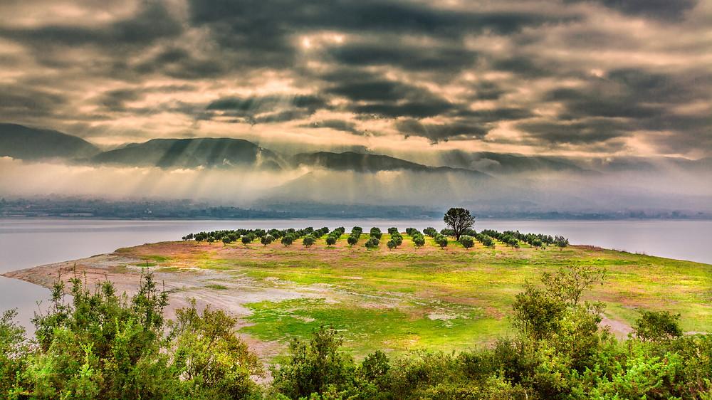 Polyfytos Lake Kozani Greece