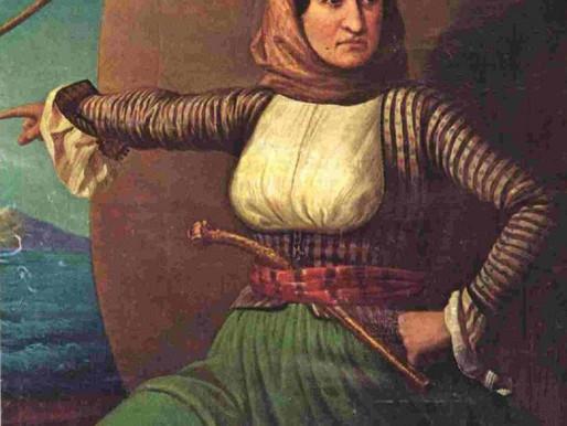 Laskarina Bouboulina | Greek War Heroine