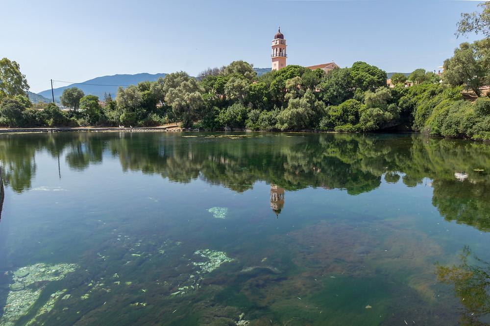 Lake Kefalonia