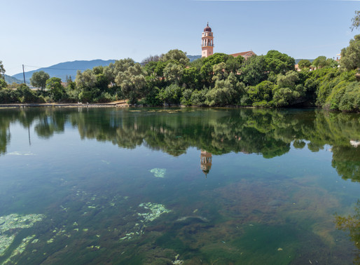 Karavomilos Lake | Kefalonia
