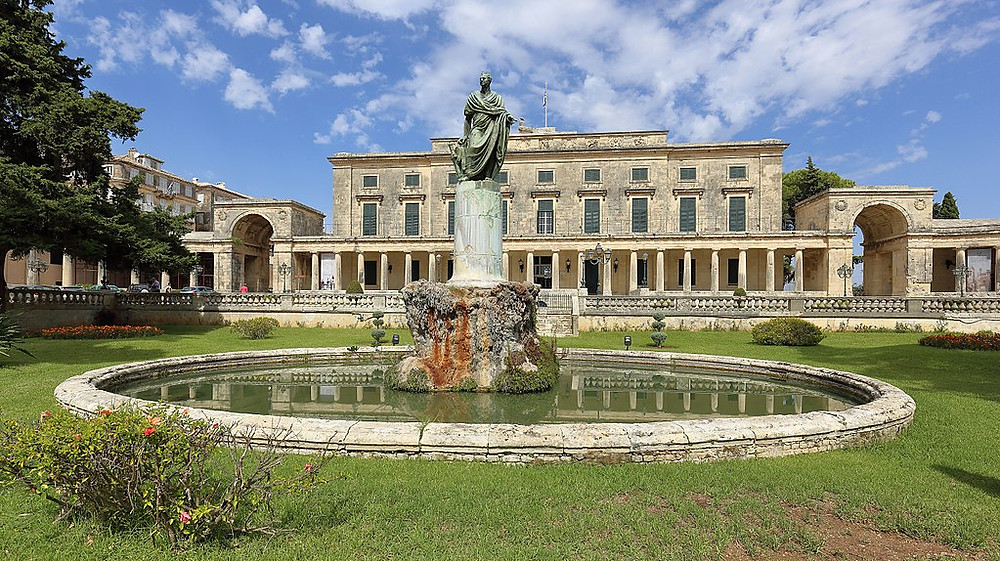 Palace of St. Michael and St. George | Corfu | Best Experiences in Greece