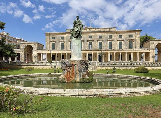 Palace of St. Michael and St. George   Corfu