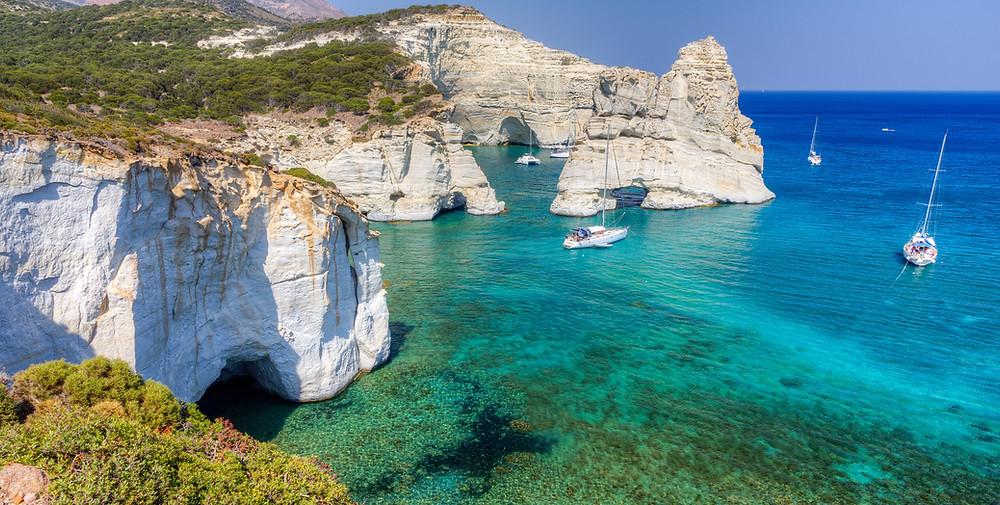 Yachting in Milos   Top Experiences in Milos Island Greece