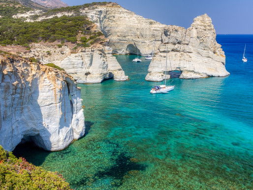 Yachting in Milos