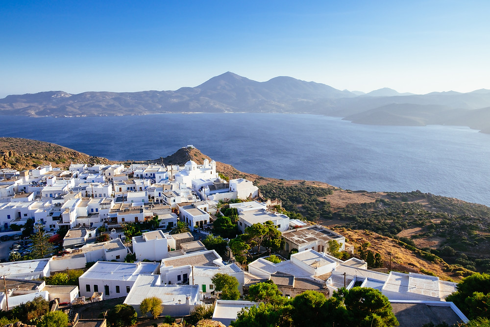 Plaka Village | Villages of Milos Island Greece