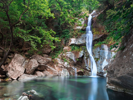Kalypso Gorge | Delta Pineios Kissavos | The Three Waterfalls