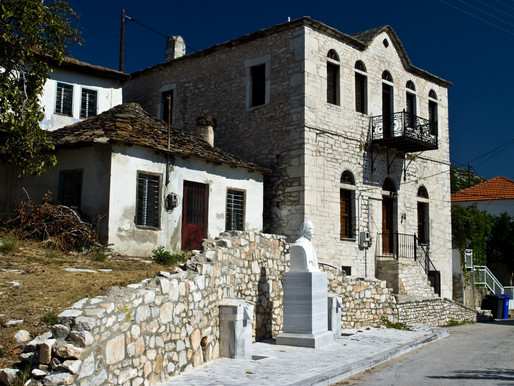 Theologos Traditional Village | Thassos