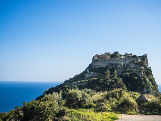 Byzantine Castle of Angelokastro | Corfu