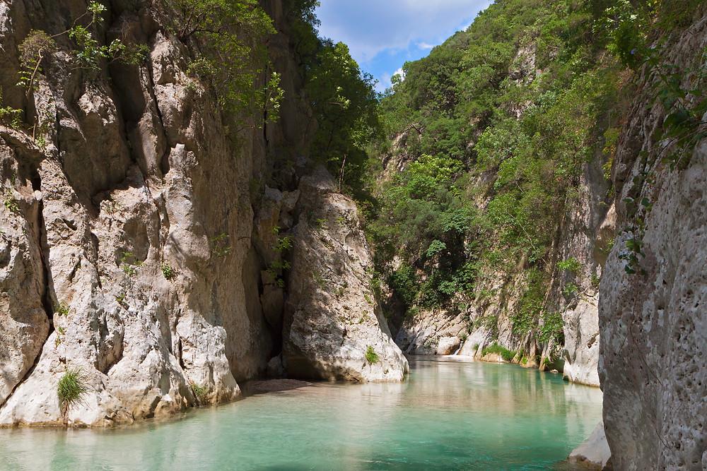 Acherontas River Greece