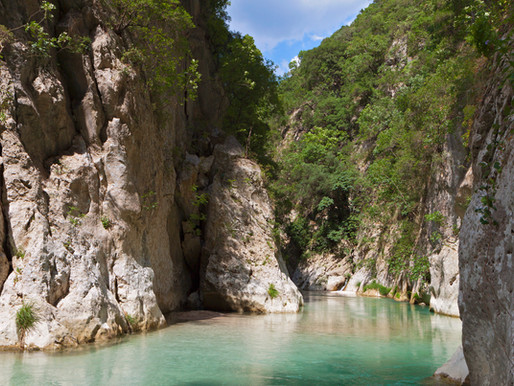Acherontas River | Parga | Dante's Border of Hell