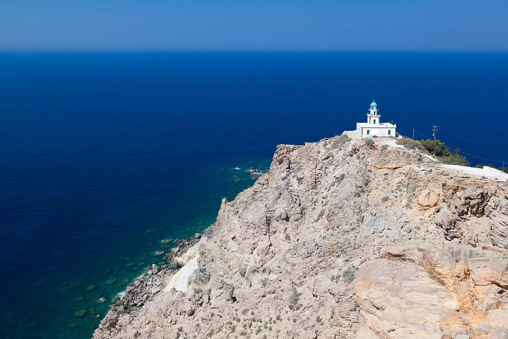 Akrotiri Lighthouse | Santorini Island