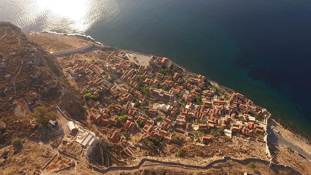 Castle of Monemvasia Greece