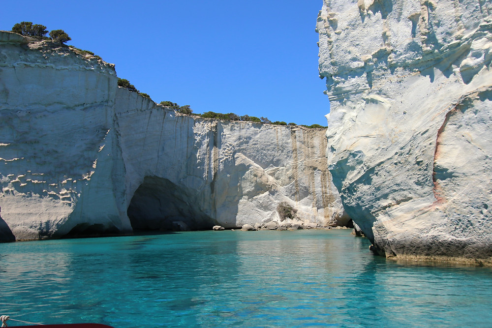Kleftiko Rocks and Beach | Best Experiences in Milos Island Greece