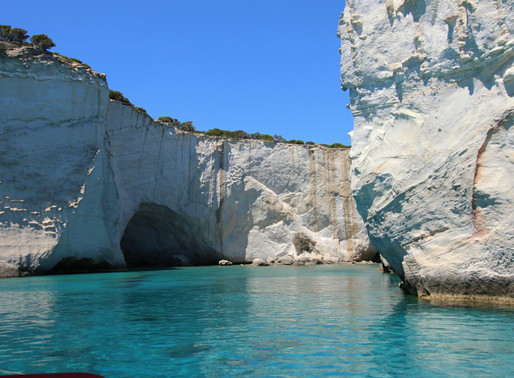 Kleftiko Rocks and Beach | Milos