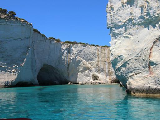 Kleftiko Rocks and Beach | Milos