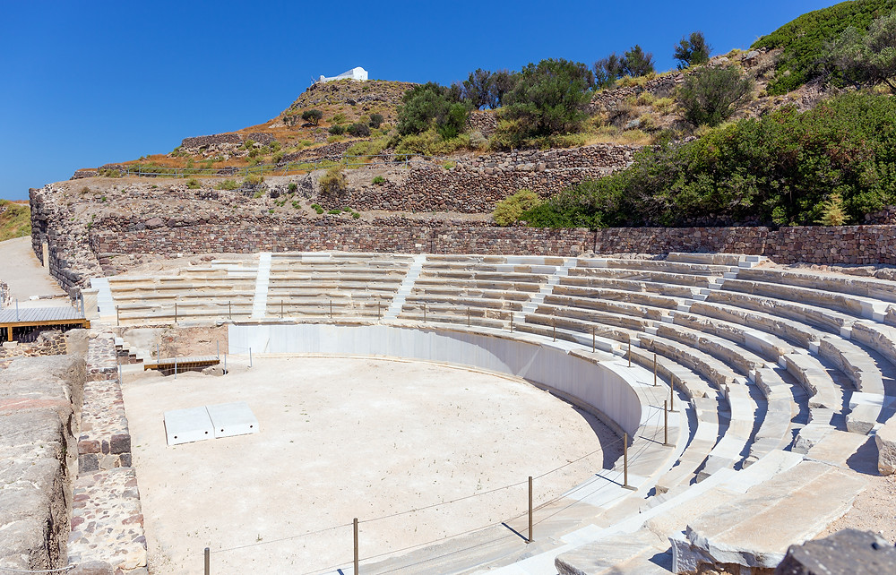 Ancient Roman Theater of Milos | Top Experiences in Greece