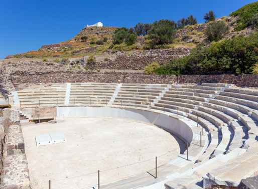 Ancient Roman Theater | Milos