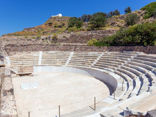 Ancient Roman Theater | Milos