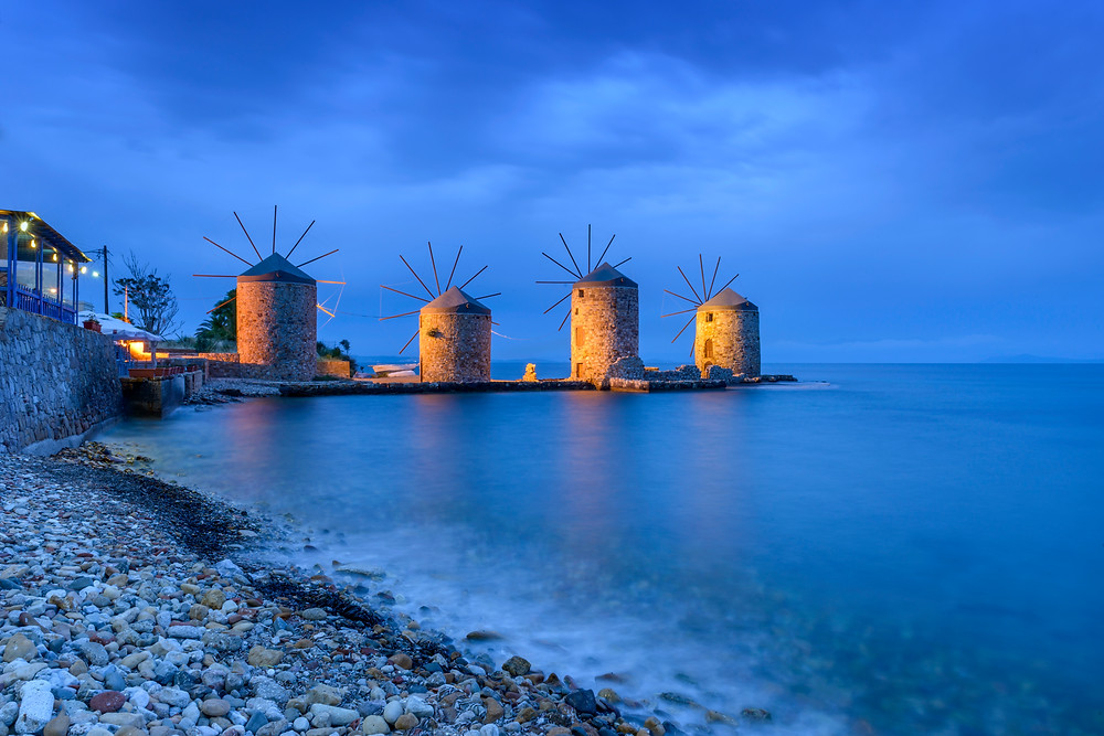 Ancient Windmills | Chios | Best Experiences in Greece